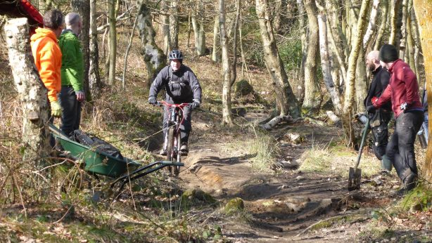 Blacka Moor Trail day – Piper house gate