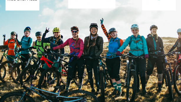 Ride Sheffield Women of Steel riders and logos